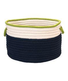 Navy, Cream, Bright green - inspo