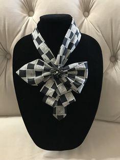 Necktie Necklace by AdornBeadingDesigns on Etsy