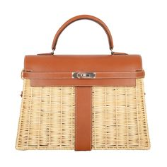 1stdibs | WOW * RARE * LIMITED * HERMES KELLY PICNIC  BAG 35CM