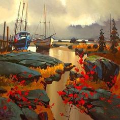 Michael O'Toole(1963~ Canadian painter)