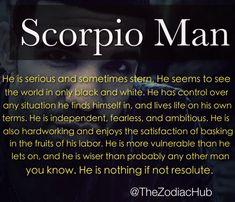 scorpio men quotes n pics - Google Search