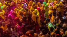 Vrindavan to witness 4-day Holi celebration by widows #MathuraHoli  #Holi