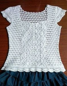 Crochet Tops ⋆ Page 17 of 21 ⋆ Crochet Kingdom (105 free crochet patterns)