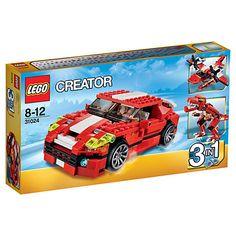Buy LEGO Creator 3-in-1 Roaring Power Online at johnlewis.com