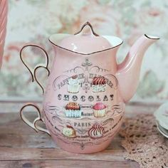 vintage hot chocolate pot