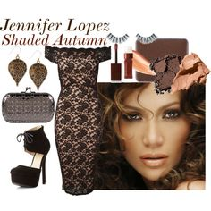 Jennifer Lopez - Shaded Autumn by prettyyourworld Deep Autumn, Warm Autumn, Dark Winter, Warm Spring, Napoleon Perdis, Jane Norman, Auburn Hair, Jennifer Lopez, Everyday Fashion