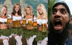 AMERICA WAKE UP-THIS IS COMING OUR WAY!!! Muslims File Petition To End Oktoberfest.
