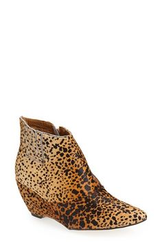 Matisse+'Nugent'+Wedge+Bootie+(Women)+available+at+#Nordstrom (if Lisa Frank made a shoe)