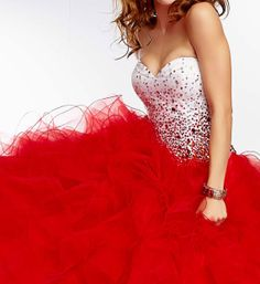 The lastest  sweetheart neckline ball gown  prom dress  by OBrides, $249.00