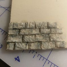3 Ways to Create Egg Carton Masonry for your Dollhouse – Minnesota Miniatures Market - and then perhaps have students do spray paint art on top - Considerate Street Art!E-mail - Ronald-Jolanda de Graaff-Verduin - OutlookWhat You Will Need: acrylic paint Dollhouse Miniature Tutorials, Miniature Crafts, Miniature Houses, Miniature Dolls, Diy Dollhouse Miniatures, Miniature Furniture, Doll Furniture, Dollhouse Furniture, Haunted Dollhouse
