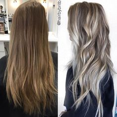 before & after by @hairbybritb❤️