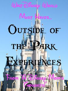 Things to do outside of the parks - Water parks, resorts to visit + more