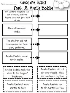 Cause And Effect Worksheet 1St Grade Worksheets for all   Download ...