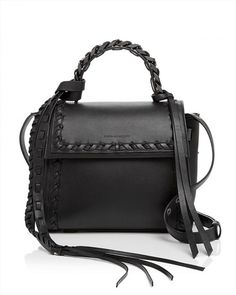 1,375.00$  Buy here - http://vieam.justgood.pw/vig/item.php?t=rzipoj38143 - ELENA GHISELLINI Angel Boho Frills Small Leather Satchel 1,375.00$