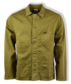 The Lois Jeans New French Twill Jacket is a classic shaped chore coat, taking design cues from heritage outerwear. Underrated, but on-trend, the Lois Jeans, Casual Art, Trends, Antique Brass, Layering, Military Jacket, Vans, Coat, Classic