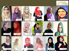 Contestent Miss Muslimah world 2013
