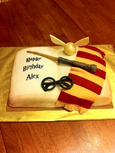 This is the most awesome Harry Potter Cake Ive seen Will have to