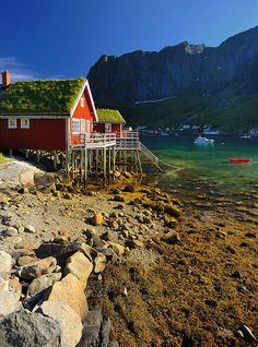 Kabelvag Village, Norway
