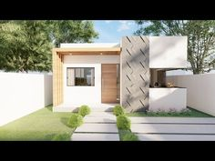 Small Modern House Plans, Mendoza, Margarita, Shed, Outdoor Structures, Outdoor Decor, Home Decor, Minimalist, Trendy Tree