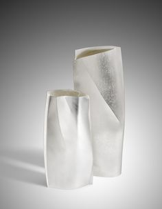 Esther Lord - Silver Vases http://www.estherlord.com/