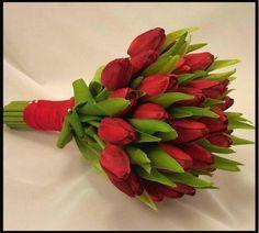 buque de noiva tulipa vermelha - Pesquisa Google