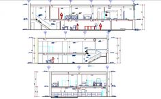 Sectional detail and elevation of a bank dwg file,, here there is sectional layout of a office, sectional detail of furniture , human figure detailing Landscape Architecture Drawing, Architecture Quotes, Architecture Old, Office Building Architecture, Office Buildings, Banks Office, Banks Building, Building Layout, Reception Areas