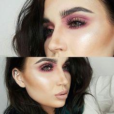 N O  W I N G  Bushy brows 🤔🤔 Using @anastasiabeverlyhills pomade Lips and lashes @modelrocklashes  Highlight @colourpopcosmetics  #mystesebeauty #makeupgeek #makeupideas #colourpop #mattelips #pinkmakeup #highlighter #hourglasscosmetics #xobeauty #beccacosmetics #shaaanxo #contour #lashes #contactlenses #motd #fashion #style #glittereyes #nz #design