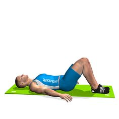 BRIDGE ON FLOOR INVOLVED MUSCLES DURING THE TRAINING GLUTES