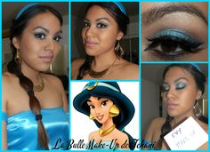 Princess Jasmine make up for a competition on Facebook Join me on FACEBOOK  INSTAGRAM: https://www.facebook.com/labullemakeupdetehani?fref=photoref=hl http://instagram.com/tehani_mu