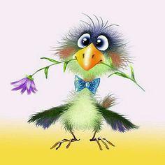 The post appeared first on Marcia Sterling. Bird Drawings, Cartoon Drawings, Cute Drawings, Animal Drawings, Cartoon Birds, Funny Birds, Cute Birds, Cartoon Kunst, Cartoon Art