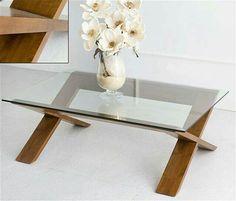 Diseño ligero en cristal y madera
