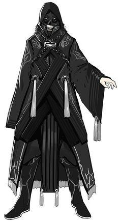 Character | Thunderbolt Fantasy - Xuán Guǐ Zōng (Genkishū)