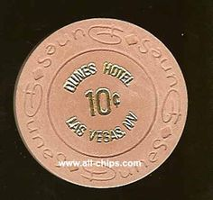 #LasVegasCasinoChip of the day is a 10c Dunes 14th issue you can get here UNC https://www.all-chips.com/ChipDetail.php?ChipID=6471#LasVegas #CasinoChip #Dunes