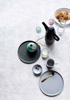 Lovely eye candy from Danish homewares brand House Doctor. #danishdesign #ceramics