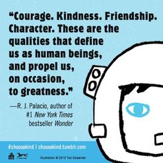 Choose Kind Quote Card