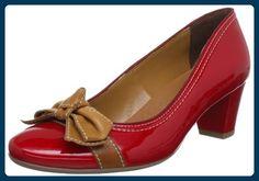 Jenny Venezia 22-52823-05, Damen Pumps, Rot (rosso,saddle), EU 42 (UK 8) - Damen pumps (*Partner-Link)