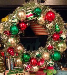 Two Mad Dahlias: Shiny Brite Wreaths