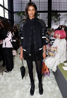 2b9959e2758 18-year-old Ava Phillippe sat front row at the Valentino show wearing our