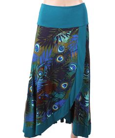 Look at this Luna Claire Blue Xenia Skirt on #zulily today!