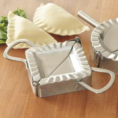 Shop Stainless-Steel Ravioli Former, Triangle at CHEFS.