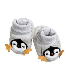 baby H&M - cute little penguin slippers! $7
