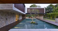 The JKC2 House in Bukit Timah, Singapore by International architectural firm ONG