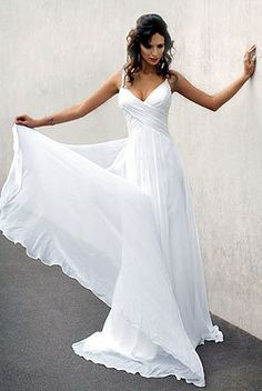silky flowing wedding dresses 2013 | Flowing Wedding Dress Styles Remain Popular In 2011 | Wedding Dresses %u2026