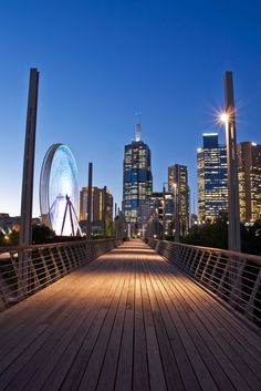 Skyline of Melbourne, Australia #travel