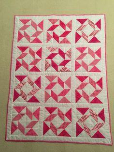 Shades of Pink Quilt Finalist