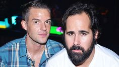 Interview with Brandon Flowers and Ronnie Vannucci on September Brandon Flowers, Heaven Sent, Music Is Life, Beautiful Boys, Hot Guys, Interview, Singer, Band, Feelings