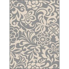 Found it at Wayfair - Garden City Gray Indoor/Outdoor Area Rug
