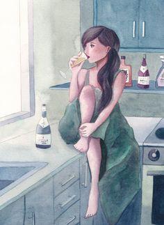 Champagne by ~Pirika1 on deviantART