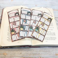 Bookmark you can plant! Bellet Journal, Empty Book, Creative Bookmarks, Book Spine, Seed Paper, Ideias Diy, Black Eyed Susan, Bee Happy, Small Gifts