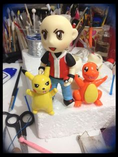 Ash pokemon clay